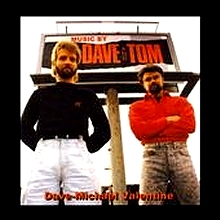 Dave Michael Valentine Music By Dave And Tom 1987 Image